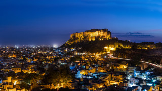 Mehrangarh Fort Night View