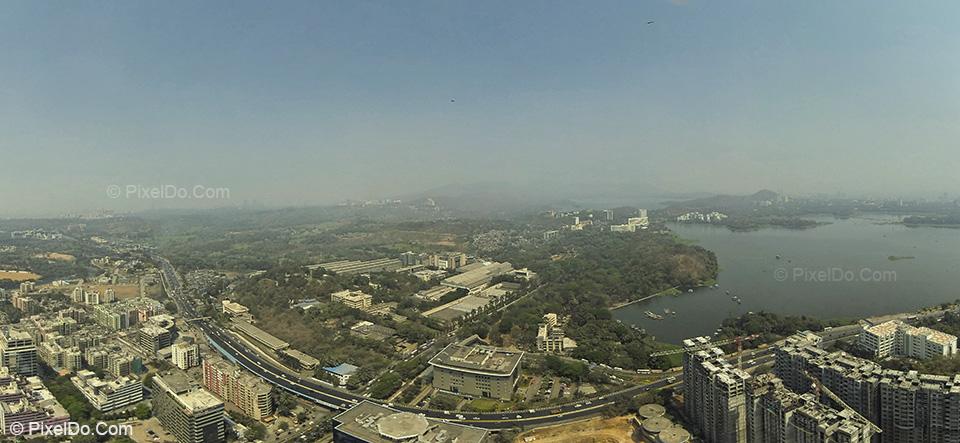 Powai : Aerial Photography Mumbai